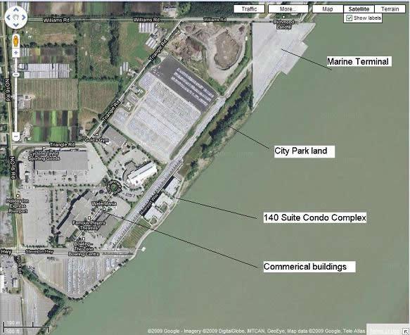 Marine Terminal Proximity